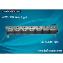 Super Bright, bande de 40W LED, 160lm / W