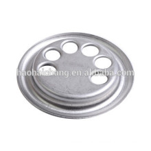 steel galvanized threaded flange for PTC heating elements