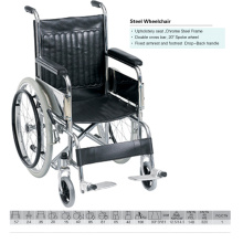 Aluminum Wheelchair with Seat Width of 35