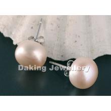 Pearl Earring, Pearl Earrings, Fresh Water Pearl Earrings (EP80)