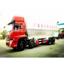 8x4 Dongfeng en vrac alimentation animale transport camion / camion de transport de nourriture légère de poulet, camion de transport des aliments pour animaux, camion d'alimentation en vrac