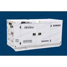 25kVA Isuzu Soundproof Diesel Generator Set