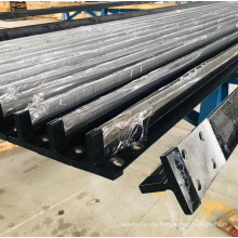 Elevator accessories of steel guide rail