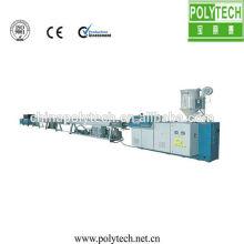 PPR tubería de plástico extrusión línea /HDPE extrusión de tubo de plástico que hace la línea de producción de la máquina