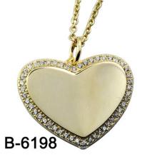 Новый дизайн ювелирные изделия стерлингового серебра 925 кулон с любовью