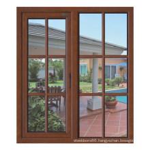 Aluminium + Wood Window (AW-C010)