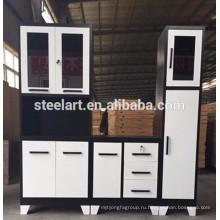 Последний дизайн металлический кухонный шкаф для продажи с хорошей цене