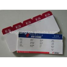 American Airlines Bordkarte Scheck und Gepäckanhänger
