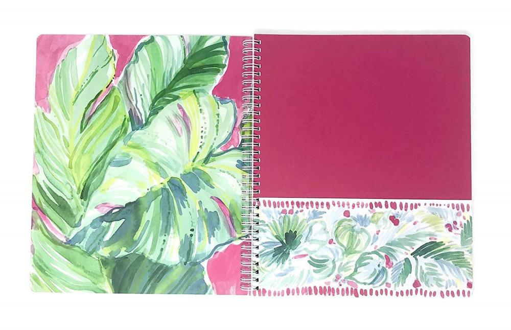 Colorful Plant Spiral Notebook 1