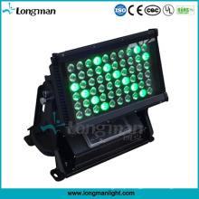 60 * 5W Rgbaw exterior de alta potência LED Wallwasher luz para a arquitetura