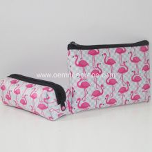 Factory selling for Acrylic Cosmetic Case Neoprene makeup bag cosmetic case with zipper export to United States Manufacturers