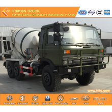 DONGFENG 6X6 military concrete mixer truck