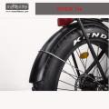 2018 36v350W Bafang Mid Drive elektrisches Fahrrad mit versteckter Batterie, fetten Reifen Elektrofahrrad