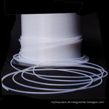Fluoriertes Ethylen-Propylen-FEP-Schlauch 3mm Teflon-Kunststoffrohr
