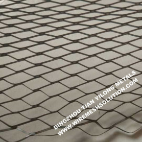 V Ribs Galvanized Diamond Expanded Metal Lath