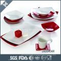Alta qualidade alemanha estilo china grés porcelanato conjunto de jantar