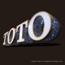 Реклама светодиодный дисплей светодиодное освещение с LED модулем