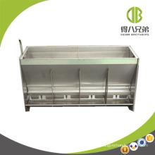 Chargeur humide sec d'alimentation d'acier inoxydable de double côté pour le porc d'engraissement et le porc de pépinière