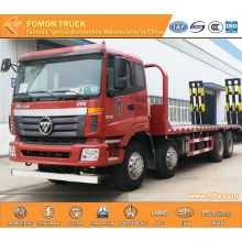 FOTON Auman 8x4 machinery transport truck