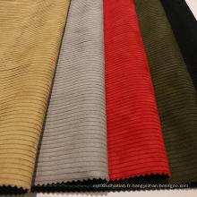 Suedette Textile Polyester Tissu en nylon