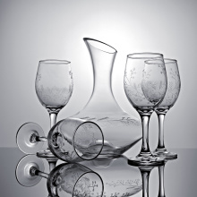 Dekanter Rotweinglas Set