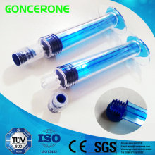 10ml Plastic Prefilled Cosmetic Syringe with Screw Piston and Plunger