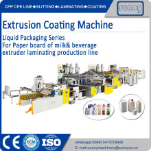 Машина для производства экструзионных покрытий для жидкостной упаковки