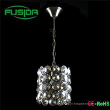 Moderno grande lâmpada pingente de cristal iluminação