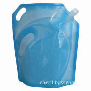 Liquid Packaging Pouch for Car Screen Washing Detergent Liquid with HACCP, FDA and SGS Marks