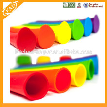 Eco-friendly BPA Free Food Grade Silicone Homemade DIY Ice Pop Popsicle Mold