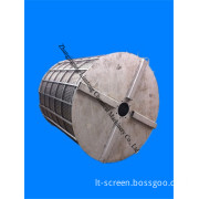 Wedge Wire Screen with Huge Size for Buhler