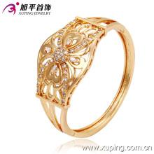 Новый модный 18-каратный золотой цвет Большой роскошный браслет с бантом