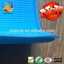 Ungiftig gepolsterte Babyspielbodenmatte Glückliche Babygymnastikmatte / Babybildungsspielzeugspielmatte