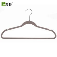 Прорезиненный шкаф для одежды Пластиковая вешалка