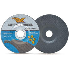 "5 ""disco de corte de metal abrasivo 125X3X22mm fabricado na China"