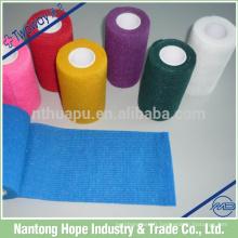 Bandage élastique cohésif coloré