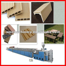wall cladding profile extruder wood plastic machine