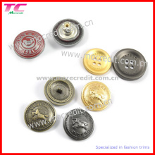 Customized Metal Buttons with Different Designs