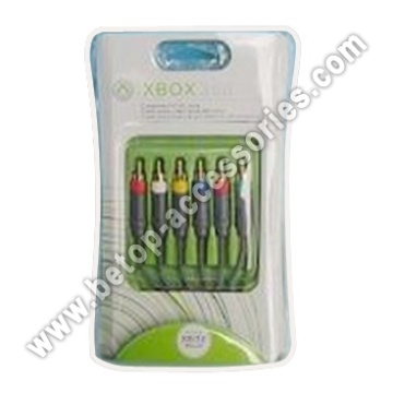 1,8 m XBOX360 Component AV Cable(Gold-Plating)