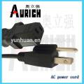 YmvK Power cabo cabo com 125V Electricalplug Powercable