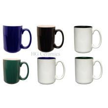 EL Grande Becher - Zwei Ton Keramikbecher, Kaffeetasse
