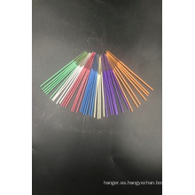 Incienso crudo de colores metalizados