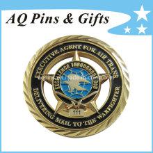 Moedas comemorativas do ouro da promoção do costume (coin-077)