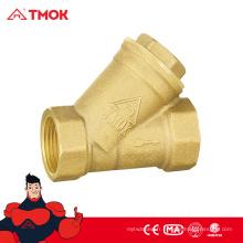 Crépine en laiton TMOK avec 200 valves wog forgées pour un port plein d'eau