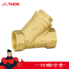 TMOK brass strainer with forged 200 wog valves for water full port