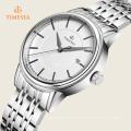 Alta qualidade pulseira de couro relógio de pulso elegância analógico relógio de quartzo relogiof 72355