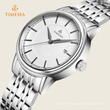 Hochwertige Lederband Armbanduhr Elegance Analog Quarzuhr Relogiof 72355