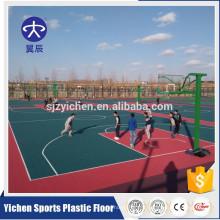 Courts de sports extérieurs de matériel de catégorie de nourriture de pp ou tuiles d'enclenchement de terrain de jeu