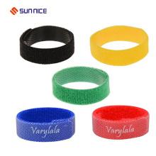 Soft Nylon Haken und Schlaufe Hundehalsband