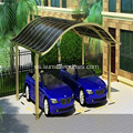 Carport de aluminio doble estilo europeo